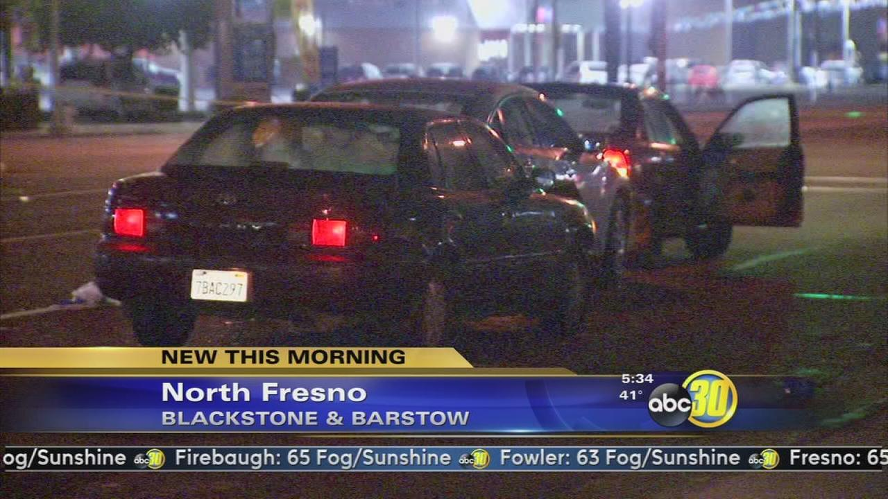 One person killed and one injured in three car collision in Fresno
