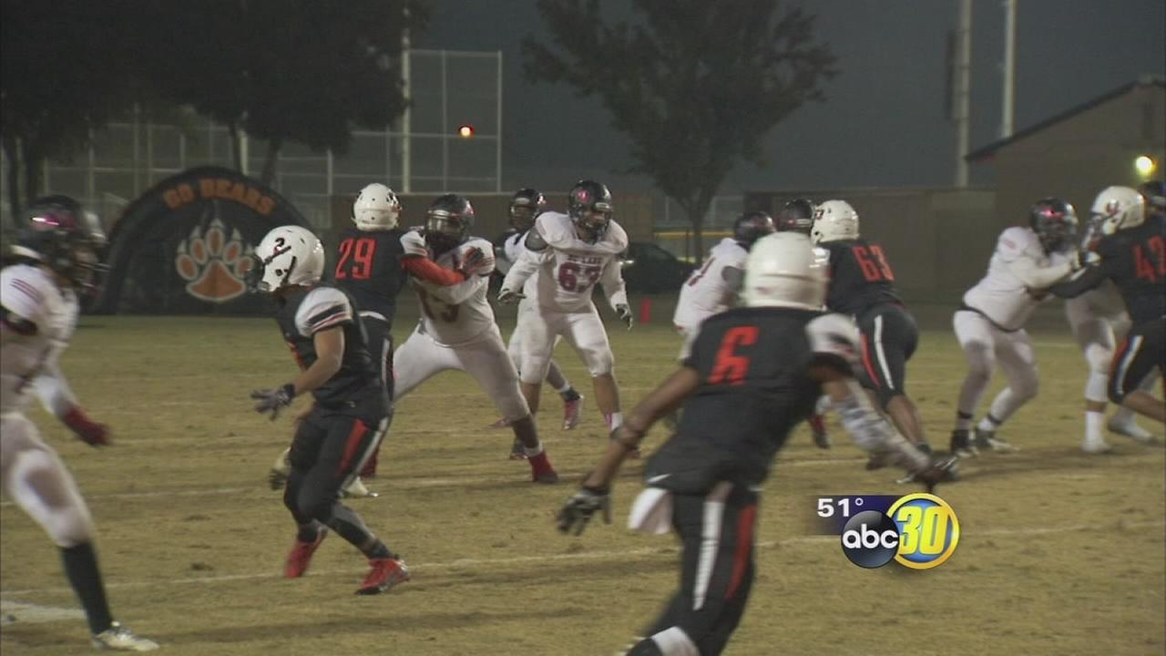 McLane High School football players have lockers broken into during playoff game