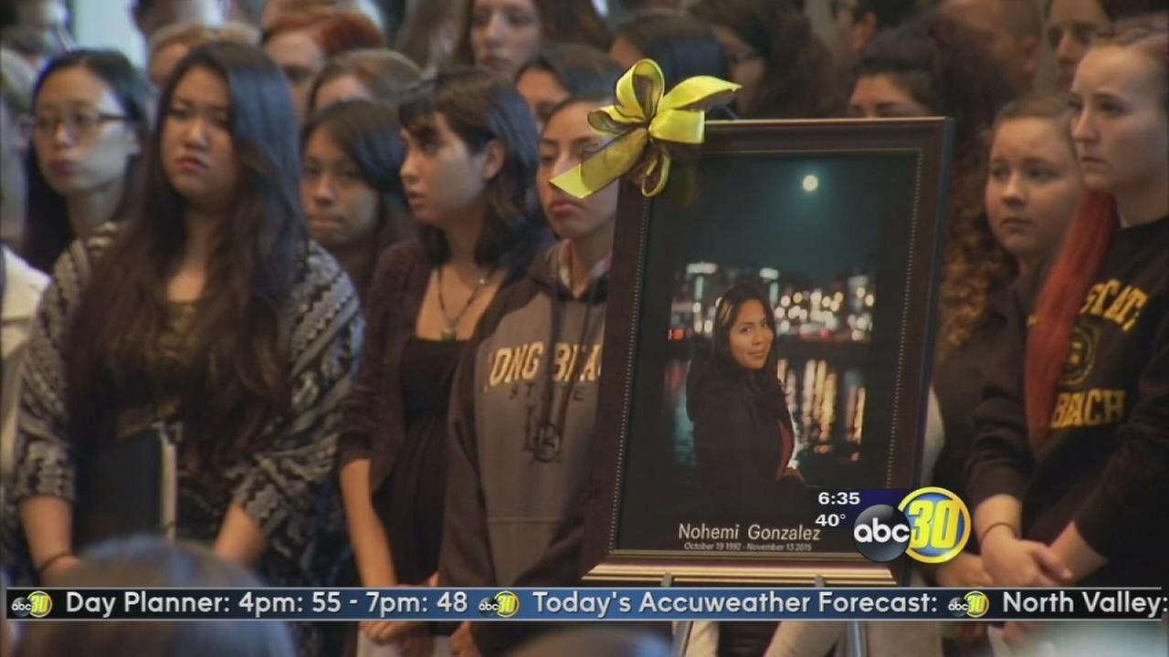 Nohemi Gonzalez remembered in at CSU Long Beach after Paris terror attacks