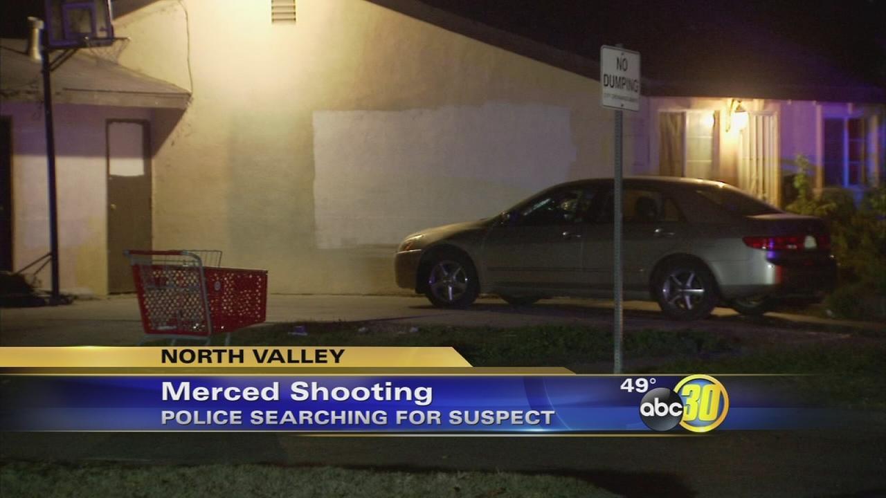 Man randomly shot in Merced, police say
