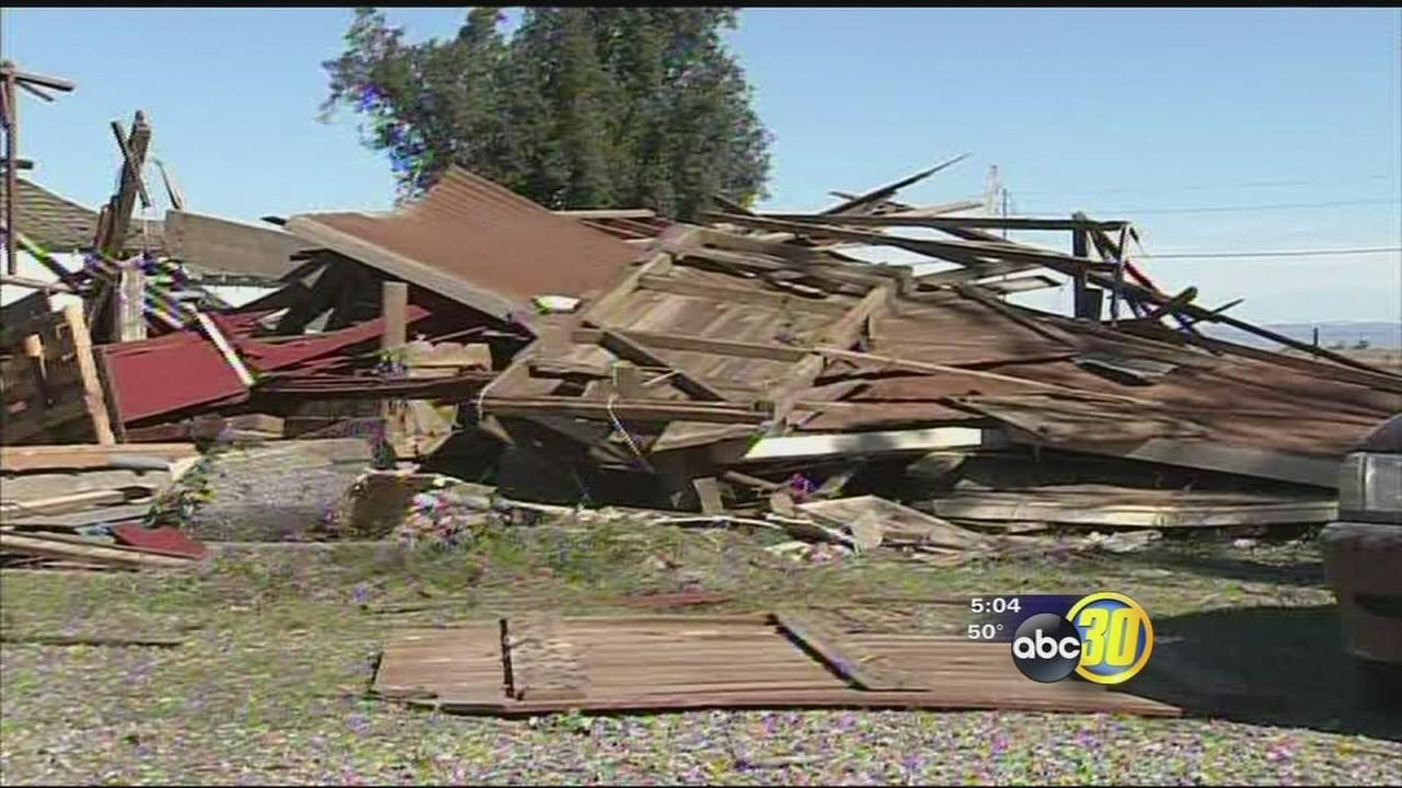 Families picking up the pieces after tornado