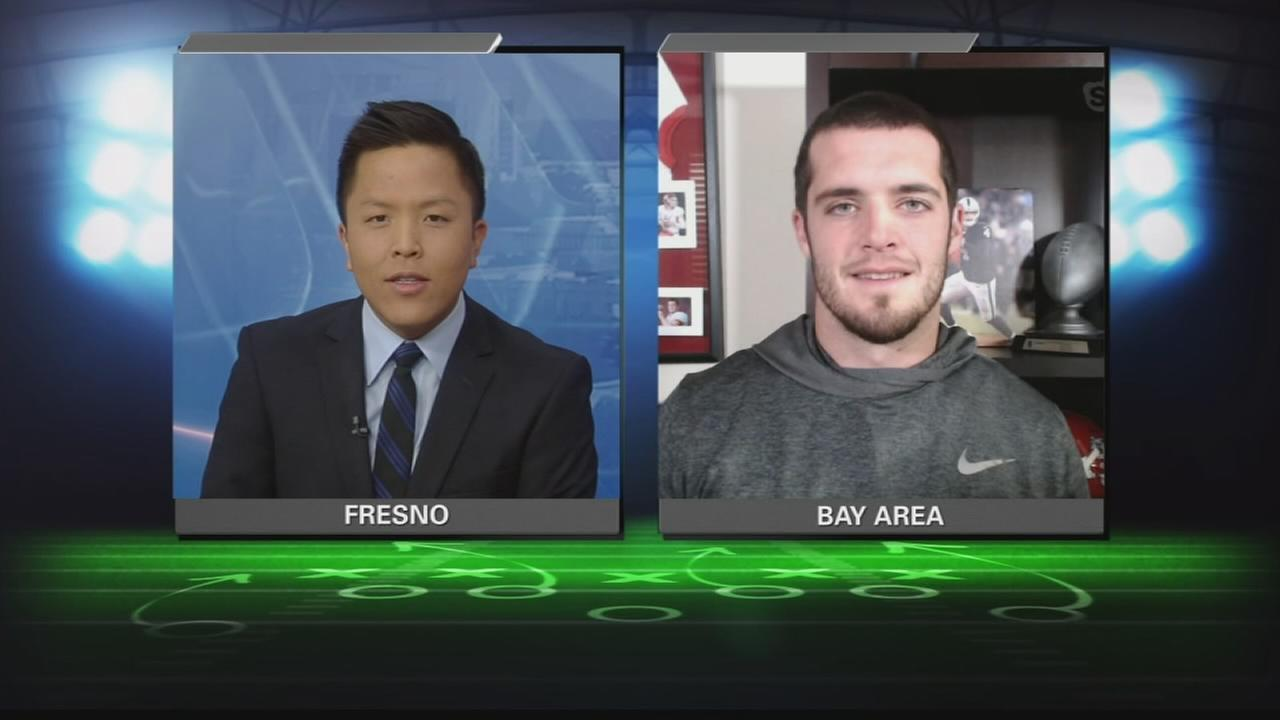 QB&A With raiders QB Derek Carr week 10