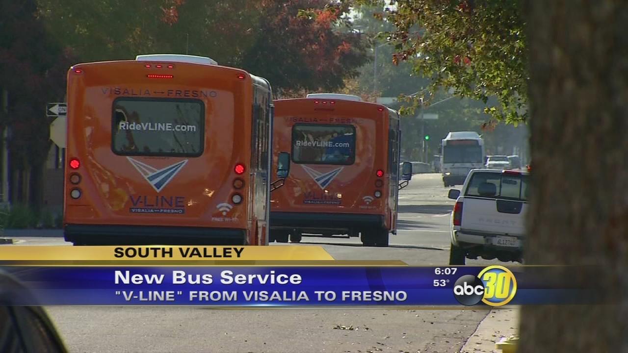 Visalia launching new bus line to take residents to Fresno