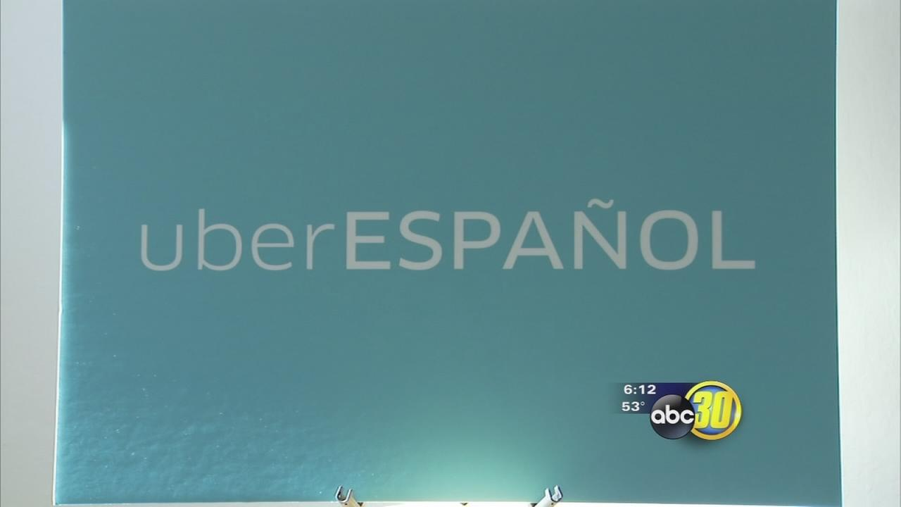 Uber now lets Central Valley passengers select Spanish speaking drivers