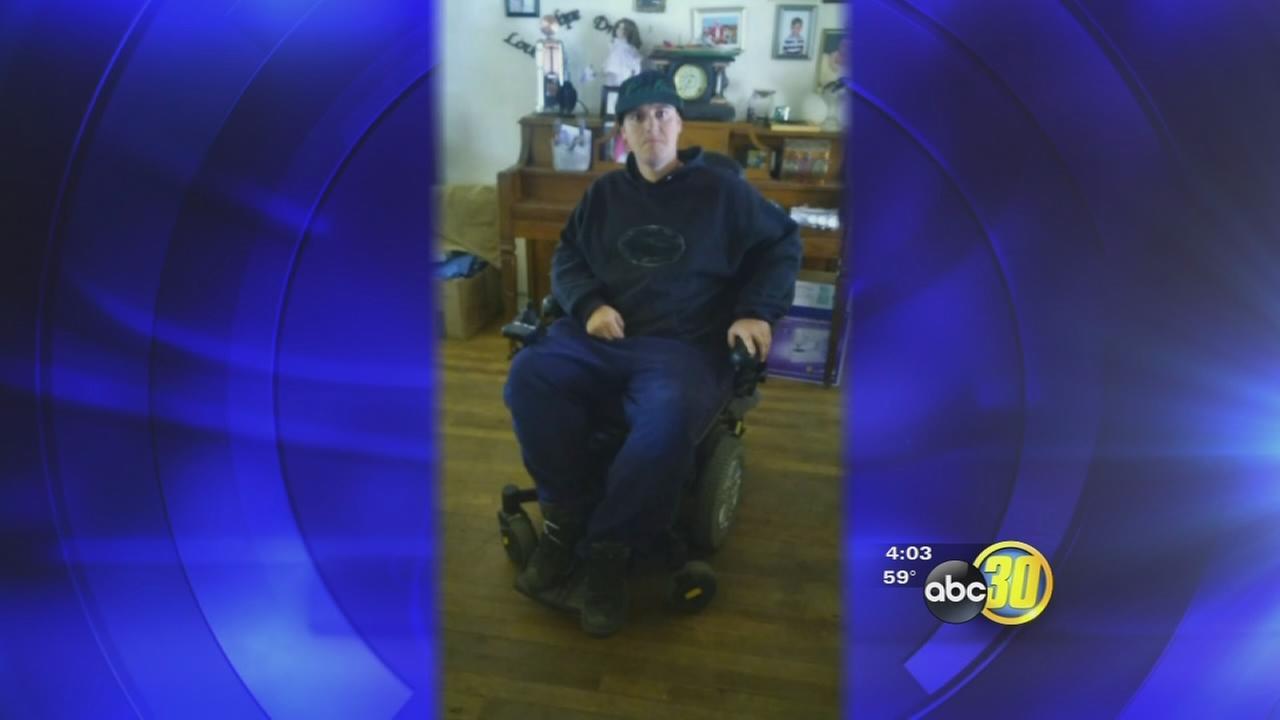 Fresno man has custom wheelchair stolen at knife point