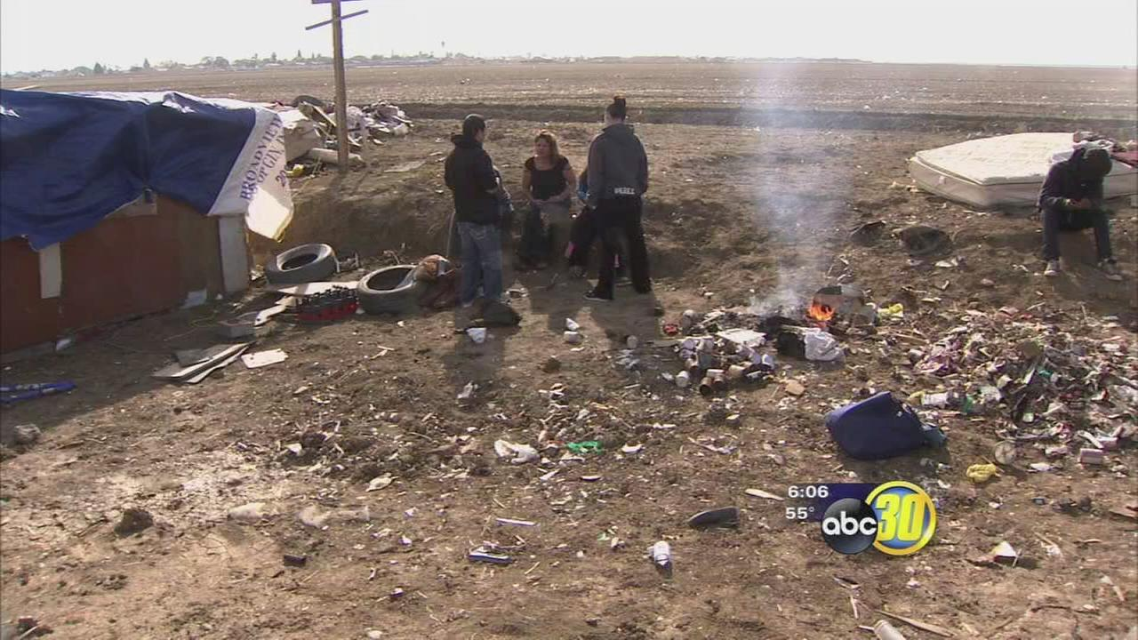 Mendota Homeless camp to be cleared out