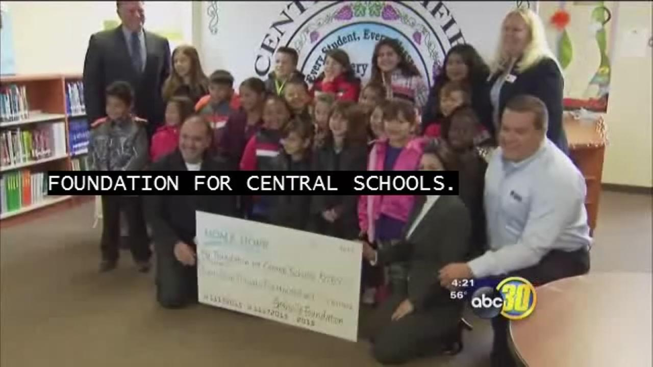 Central Unified children receive new coats