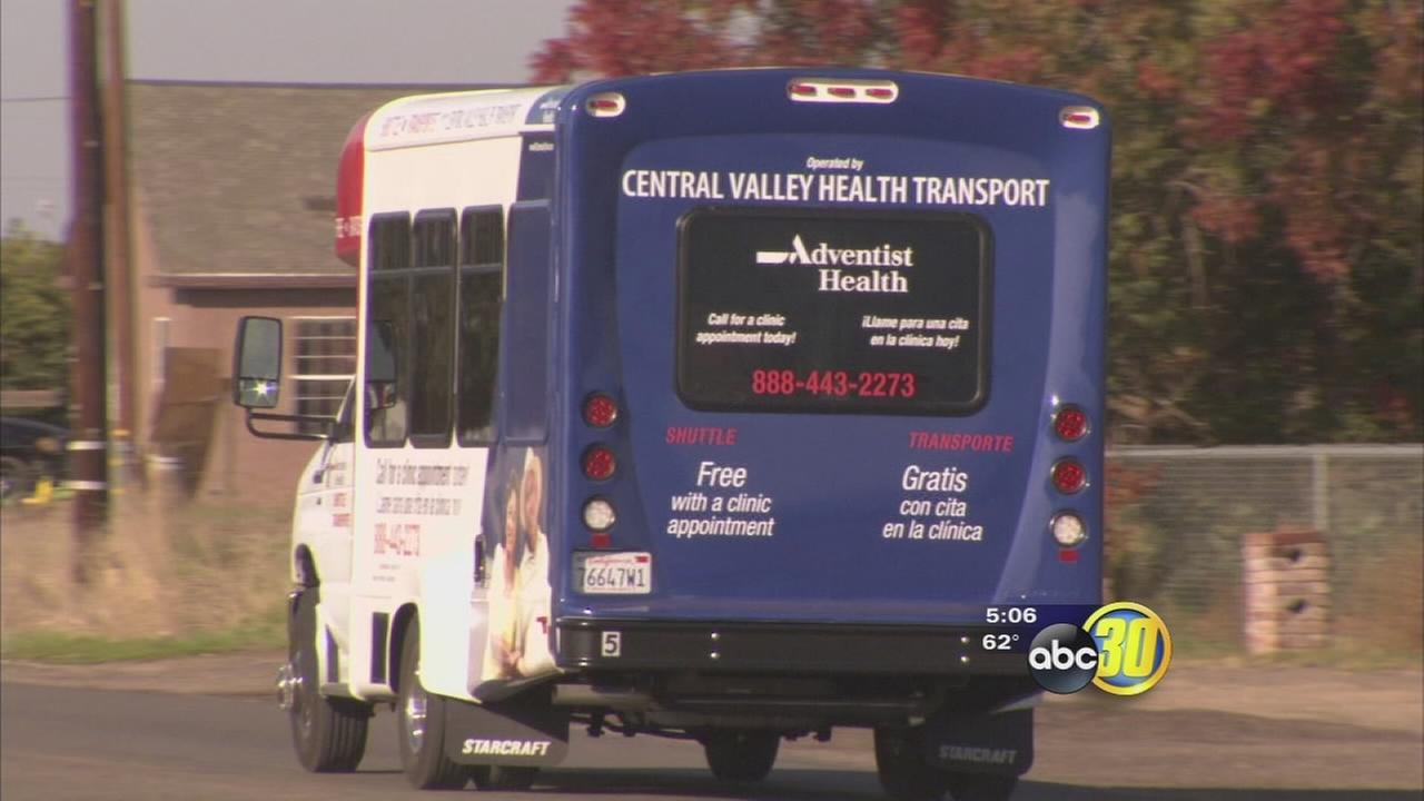 Valley Clinics Offer Free Transport for Patients in Need