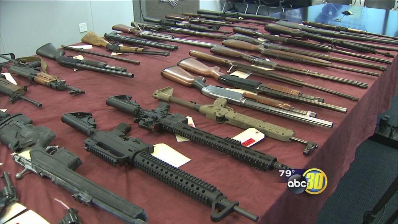 Fresno PD conducts summer gang/gun suppression efforts