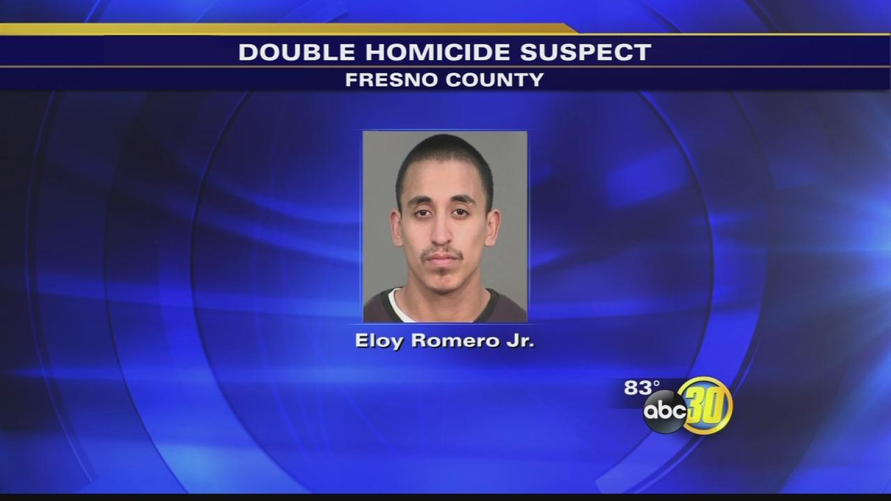 Suspect wanted in double homicide arrested in Reedley