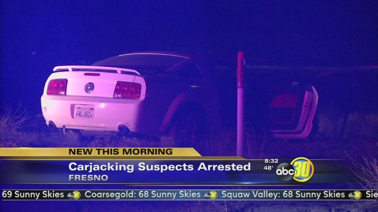 Four Teenagers in Custody After Armed Carjackings