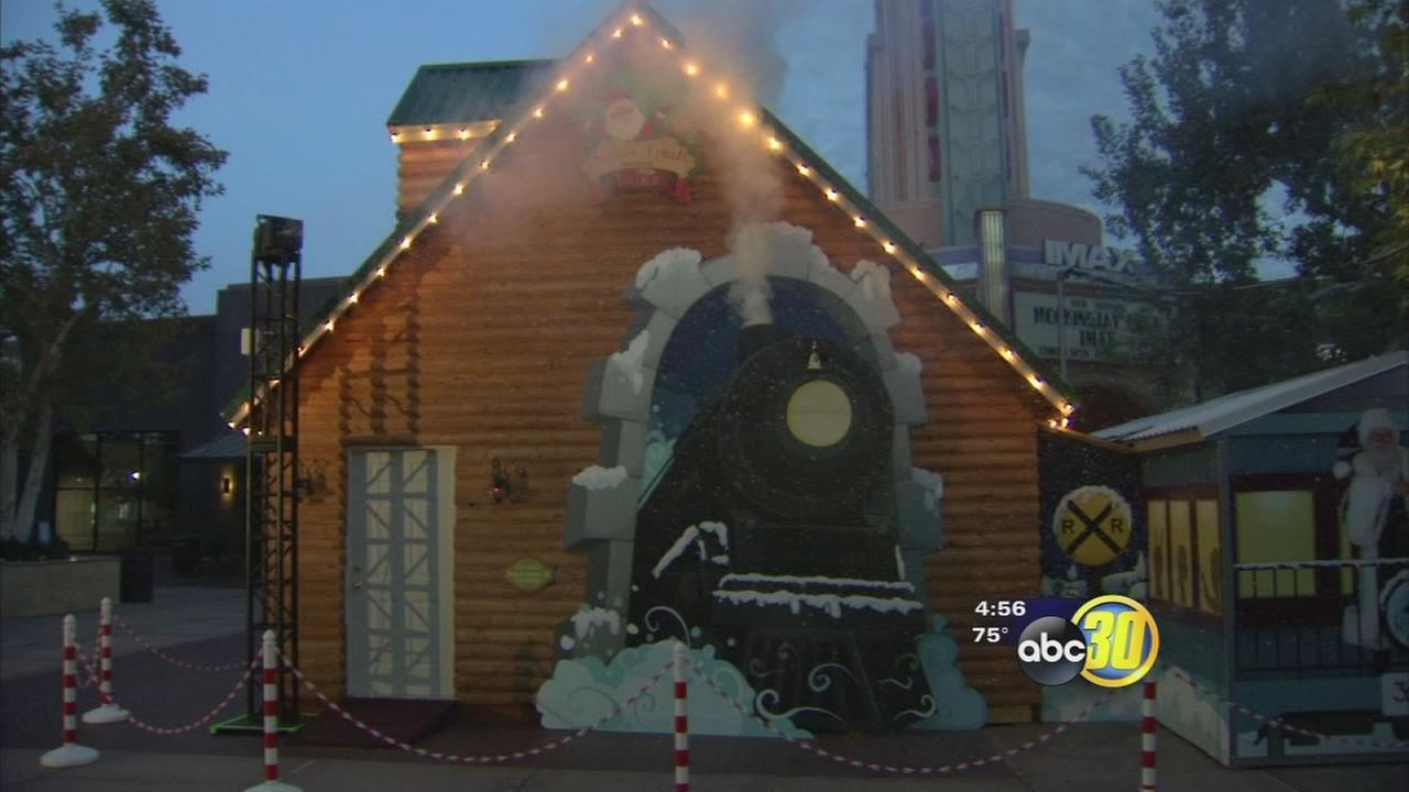 Polar Express comes to River Park