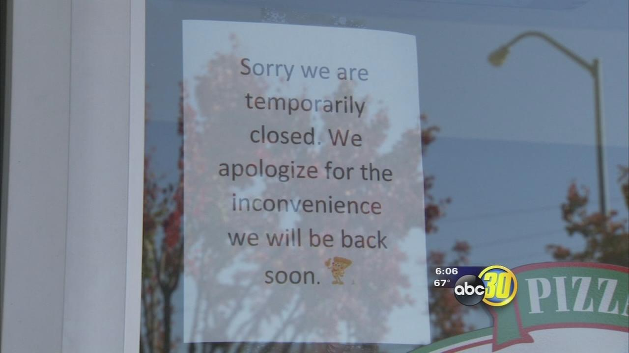 Three Papa Johns restaurants in Fresno area close