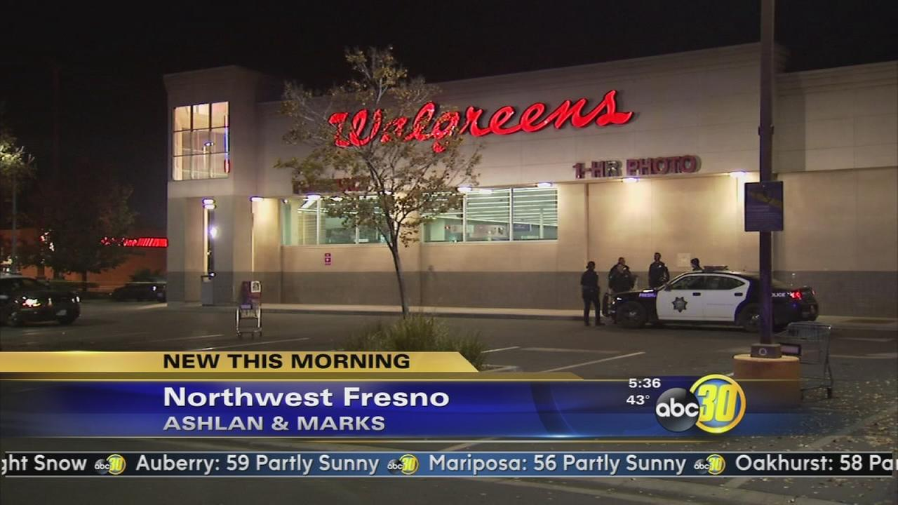 Northwest Fresno Walgreens robbed at gunpoint