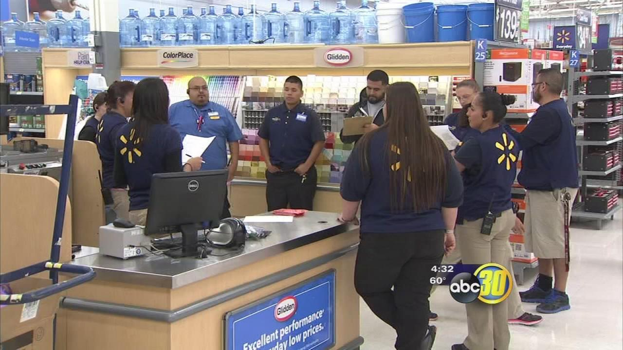 Local Wal-Mart gearing up for Black Friday