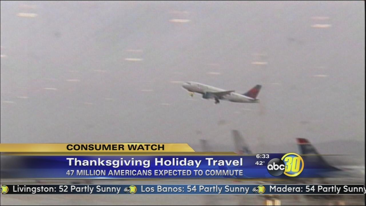 Thanksgiving travel forecast