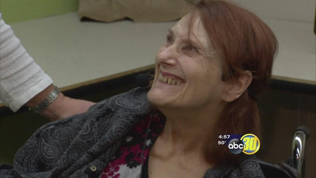 Fresno woman receives gift that will help her voice stand out