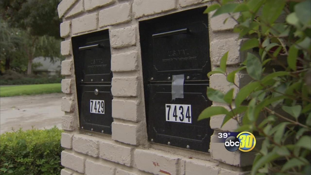 A rash of mailbox break ins have residents of a Northwest Fresno neighborhood feeling targeted