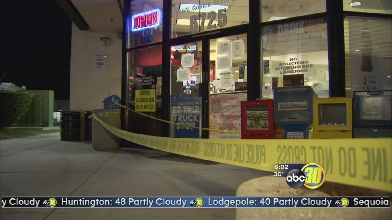 Customers robbed at Fresno truck stop