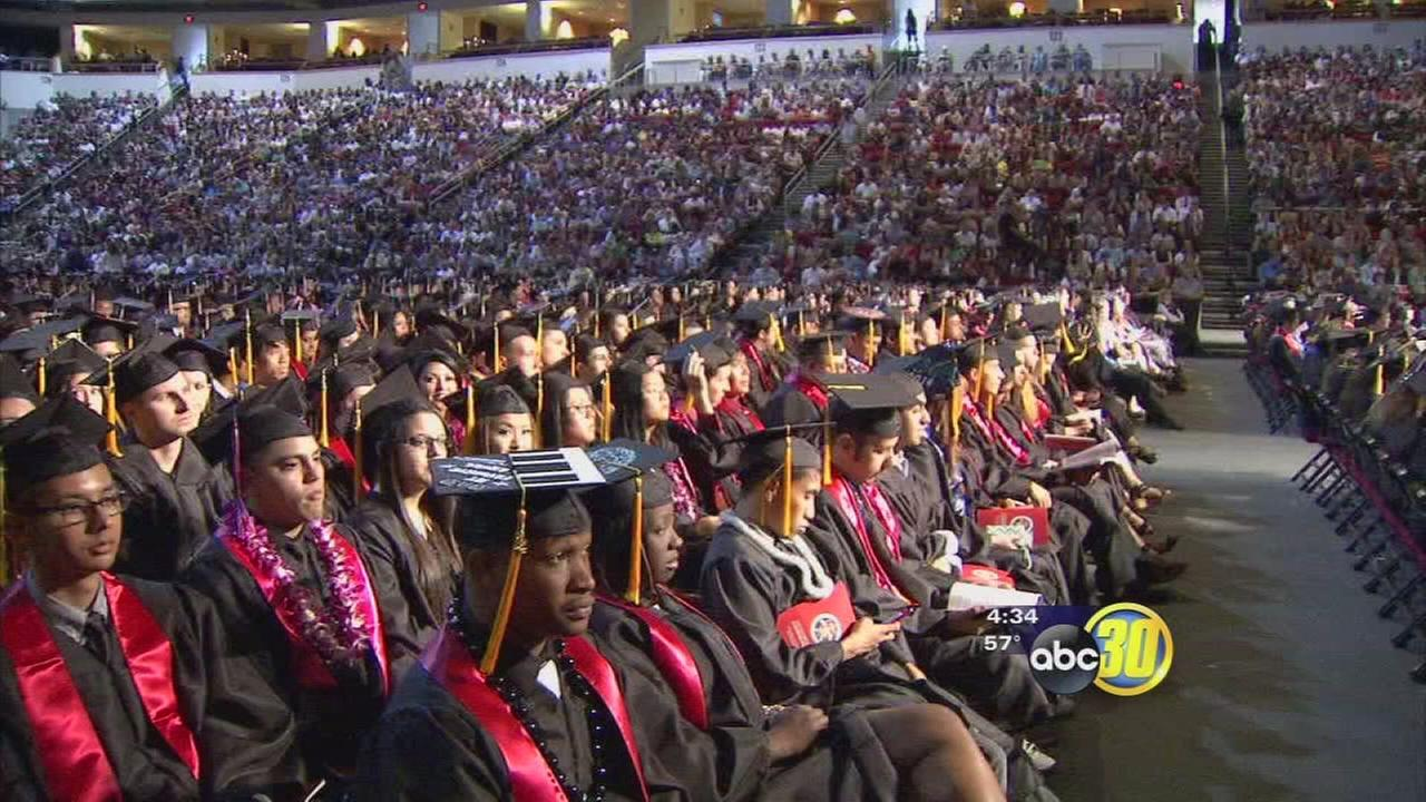 Graduation rates at all-time high at Fresno State