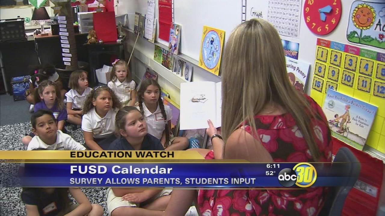 Fresno Unified launches families and employees say on future academic calendar