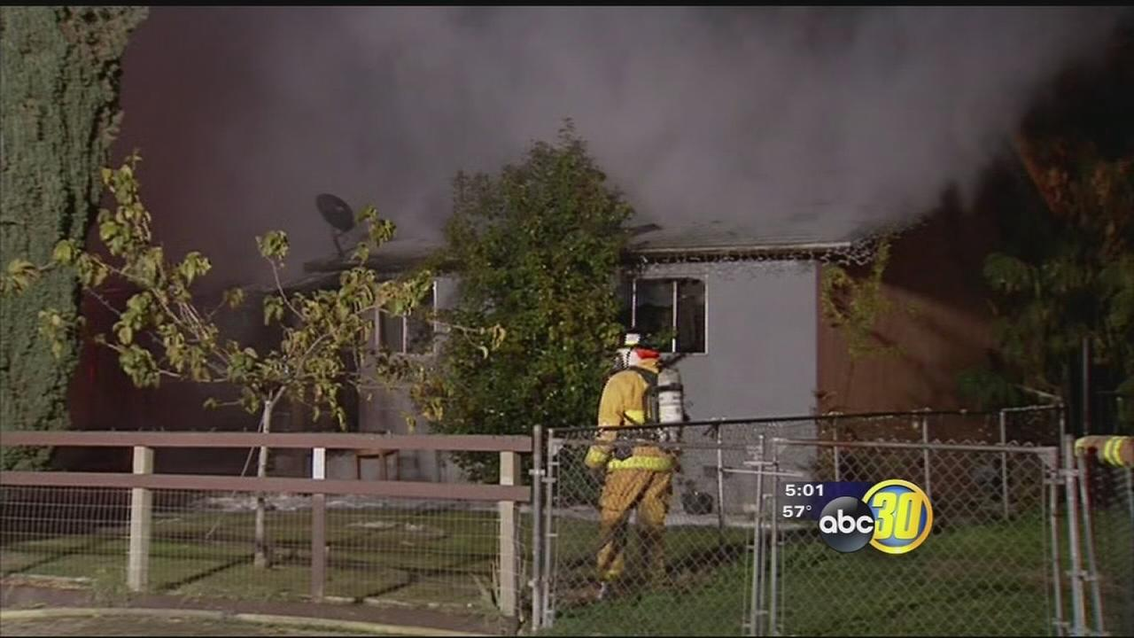 Goshen family displaced after fire destroys their house