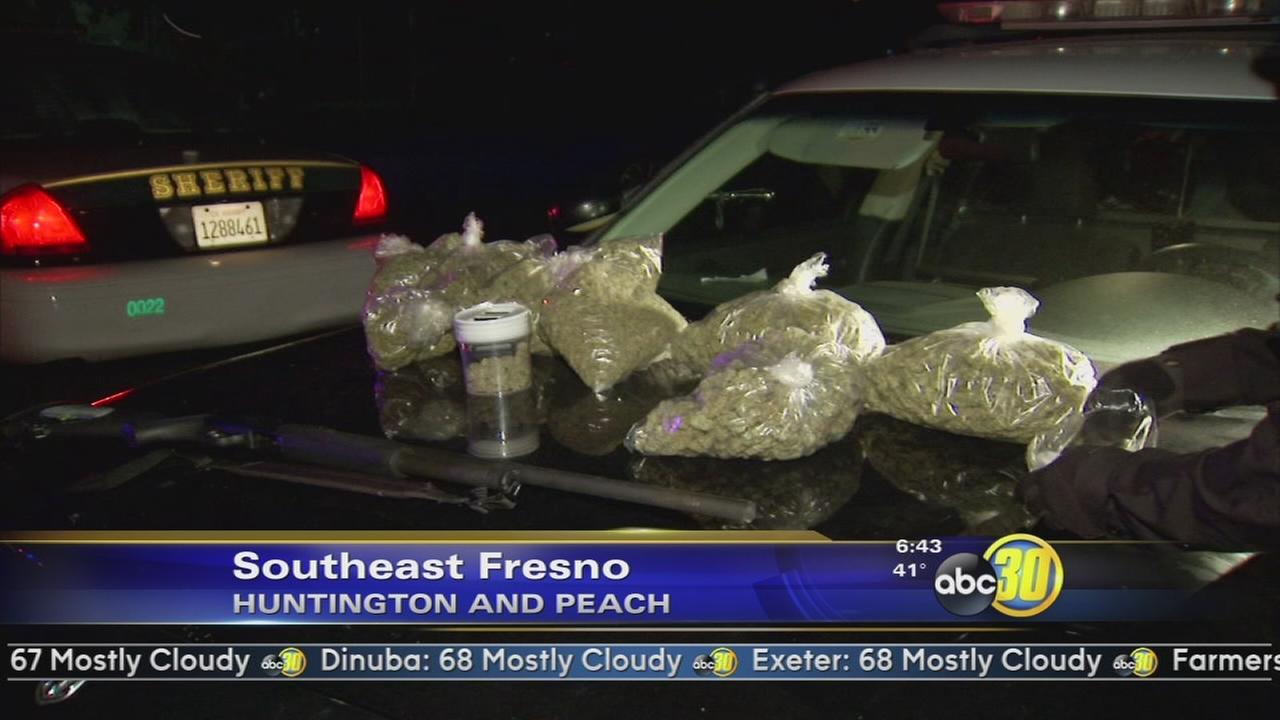 5 arrested, 3 crimes, minutes apart in Southeast Fresno