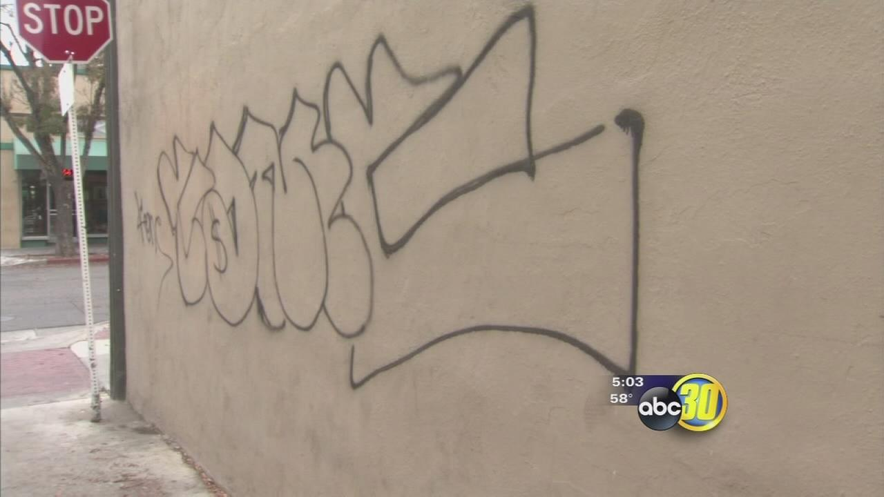 Merced buildings vandalized during the night