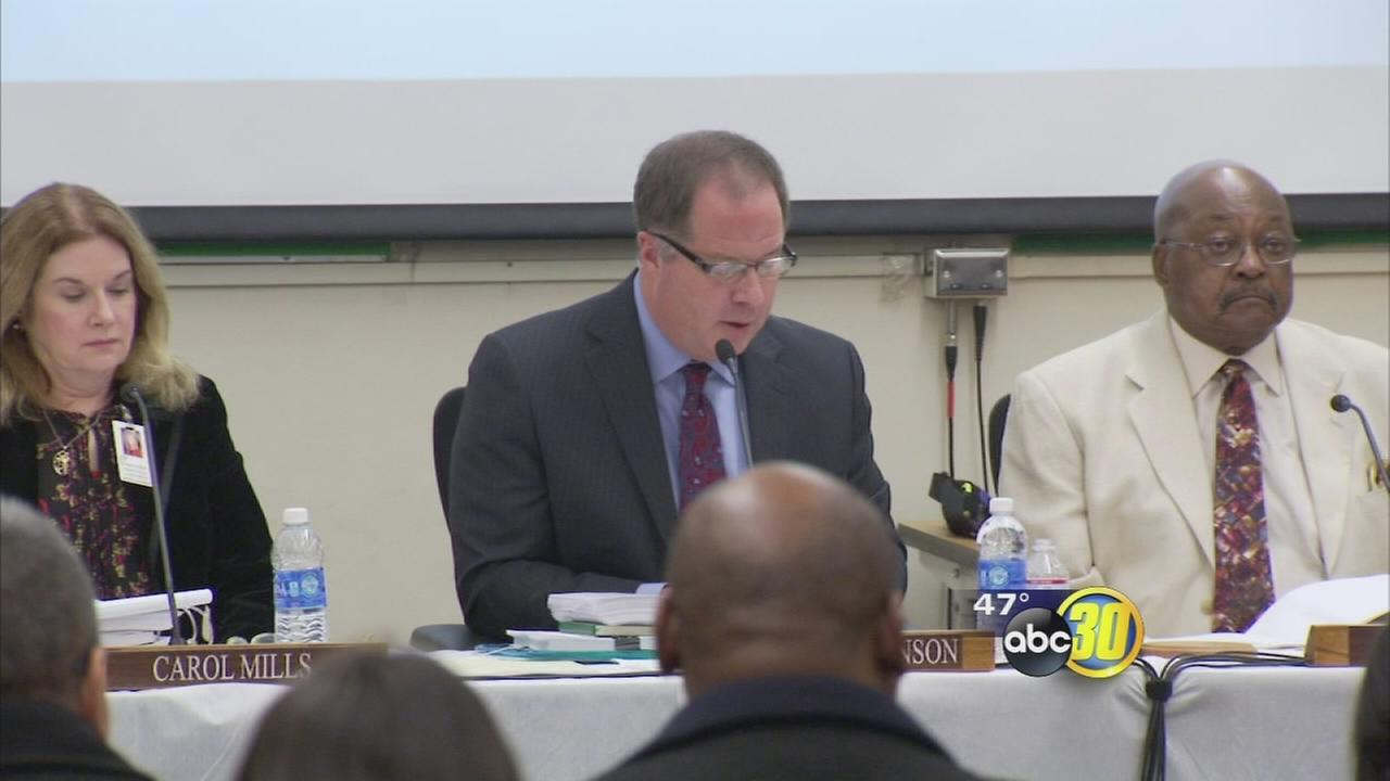 Fresno Unified superintendents contract approved for another year