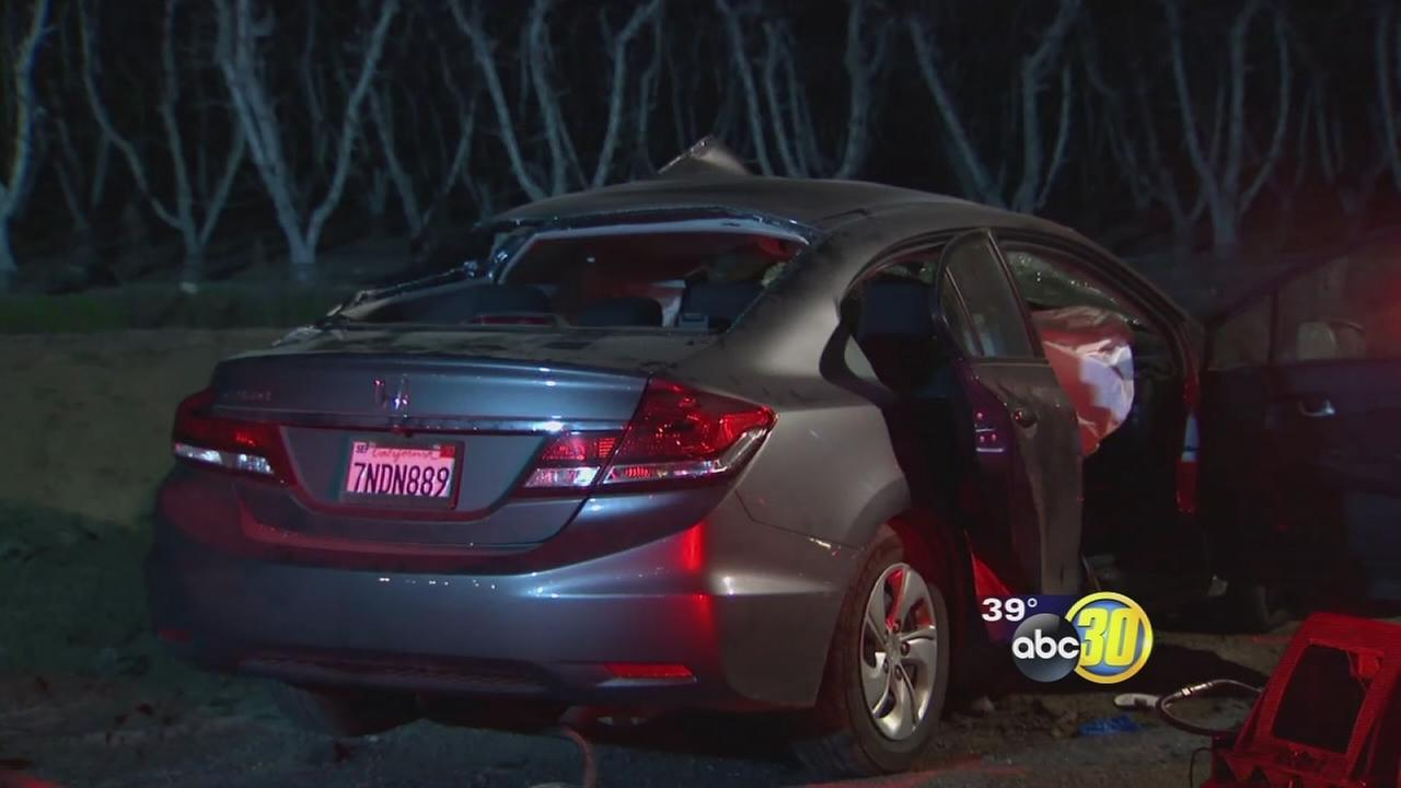 Husband and wife killed and 5-year-old injured in head on collision in Kingsburg