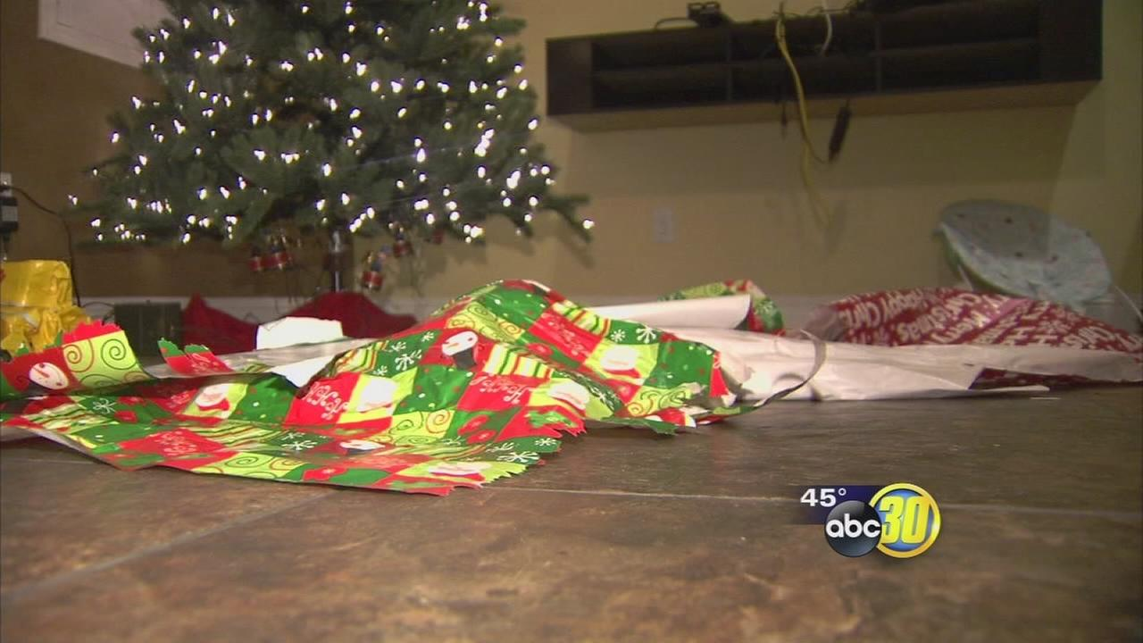 Valley family has Christmas presents stolen