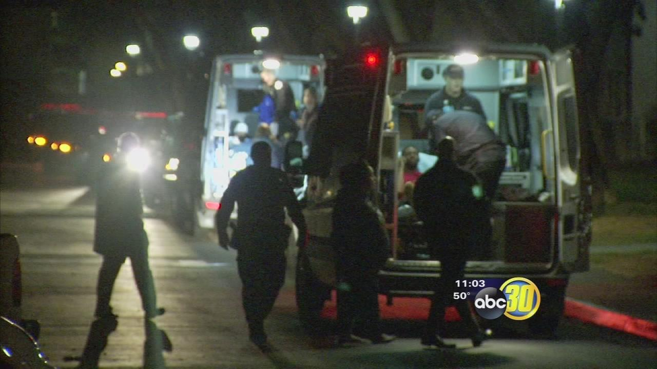 Fresno police investigation stabbing spree in Northwest Fresno