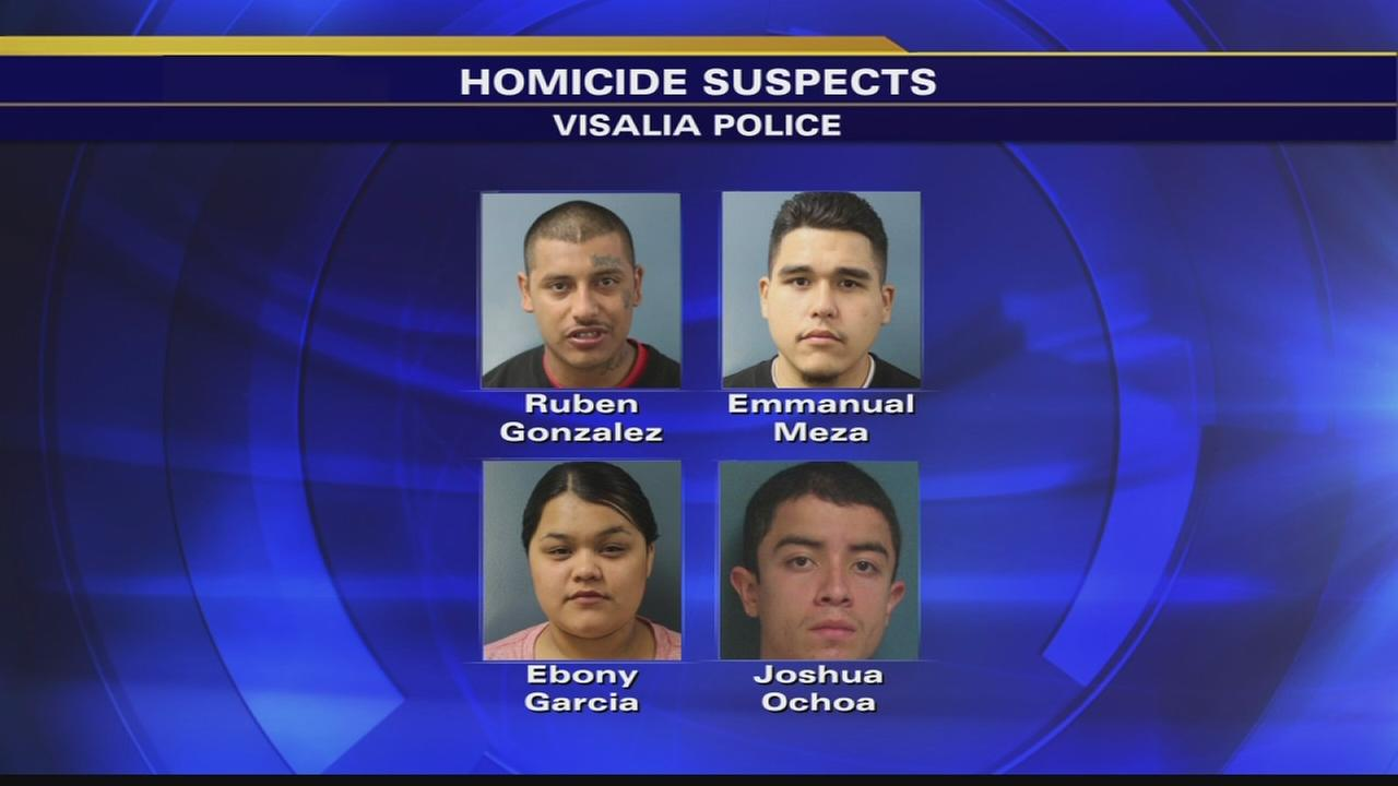Four people arrested for deadly stabbing in Visalia - Fresno news
