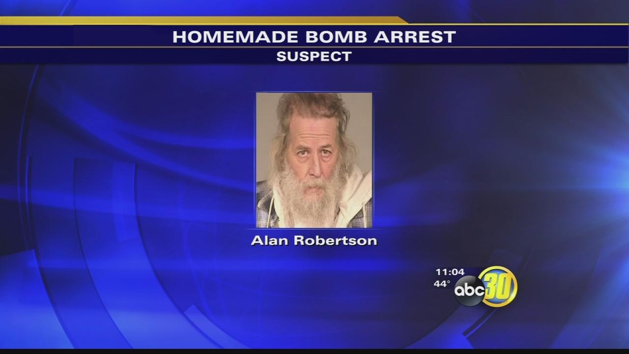 Fresno police arrest man in Central Fresno for setting off bombs