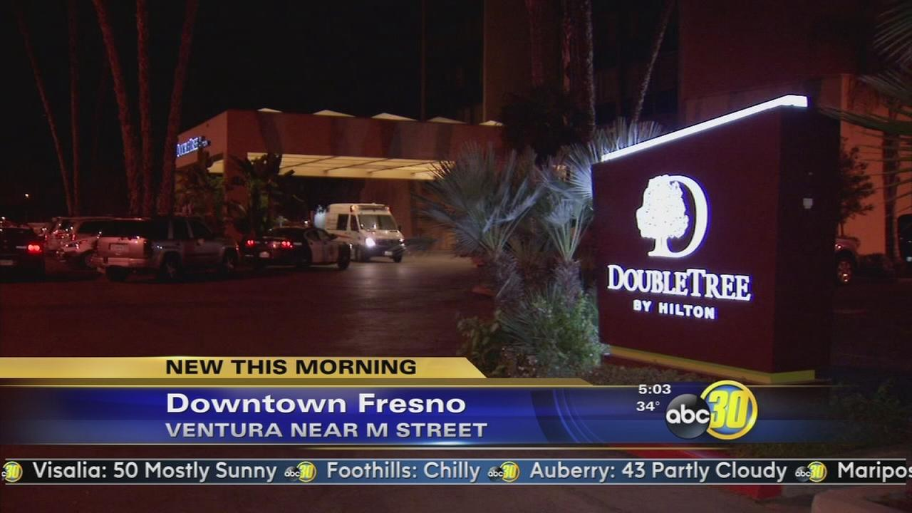 Homeless man attacked with a brick in Downtown Fresno