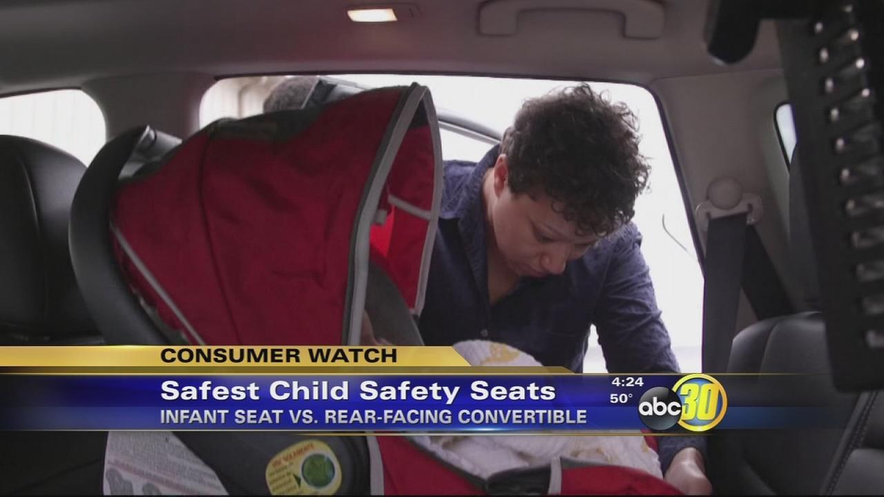 Safest child safety seats