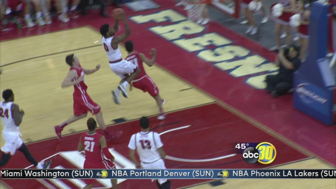 Fresno State falls in Mountain West home opener