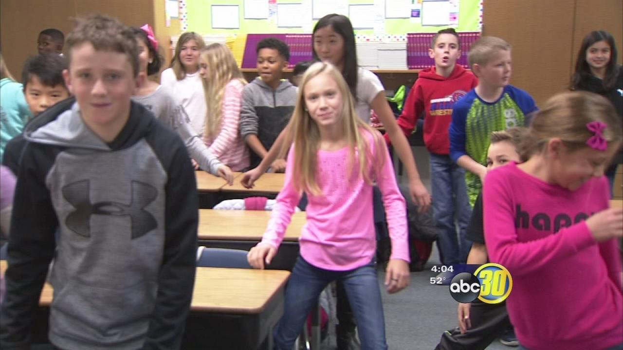 Stormy weather keeps Clovis Unified students indoors, teachers getting creative to keep them busy