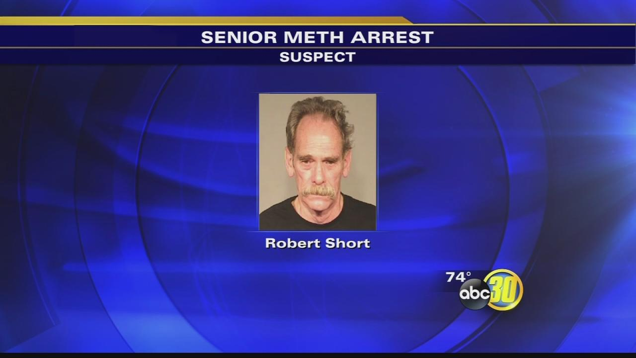 Fresno traffic stop leads to discovery of meth lab at retirement community