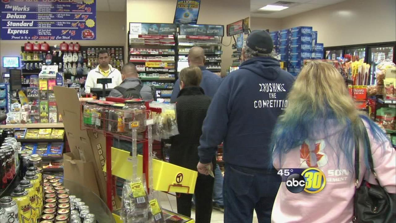 Largest lottery jackpot in history has convenience stores busy