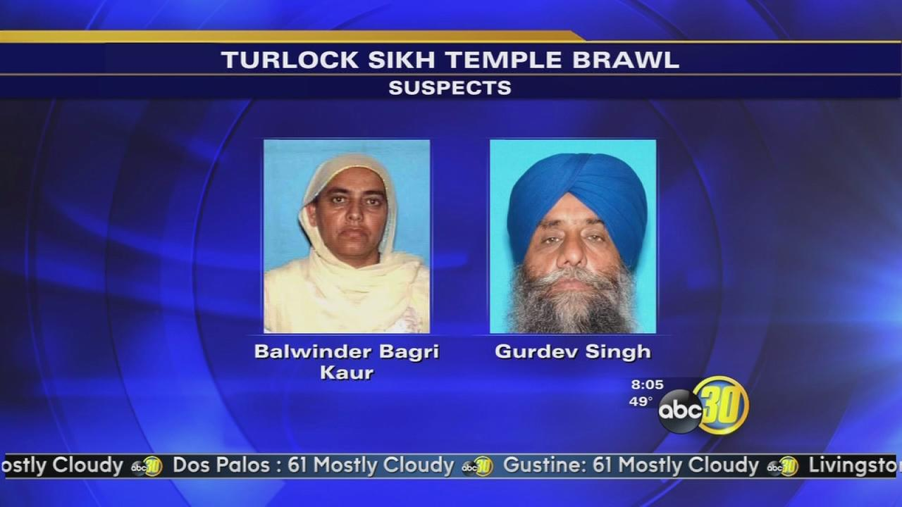 Two people from Madera arrested in connection with Sikh temple brawl in Turlock