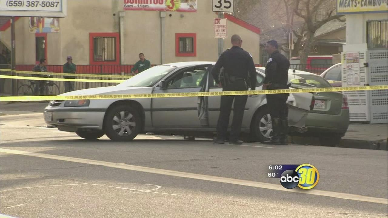 Teenage murder suspect arrested for shooting of  59-year-old man in Central Fresno