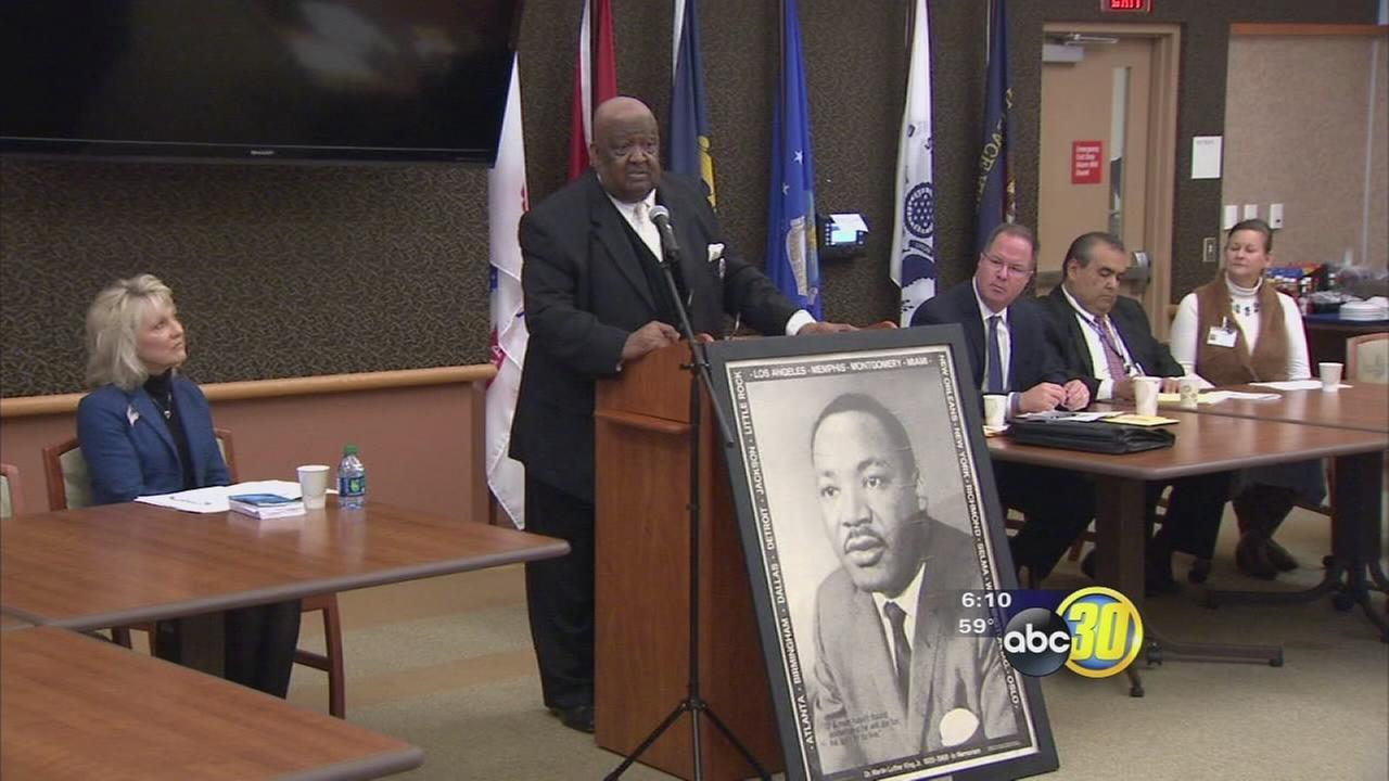 Fresno leaders share stories of Martin Luther King, Jr.