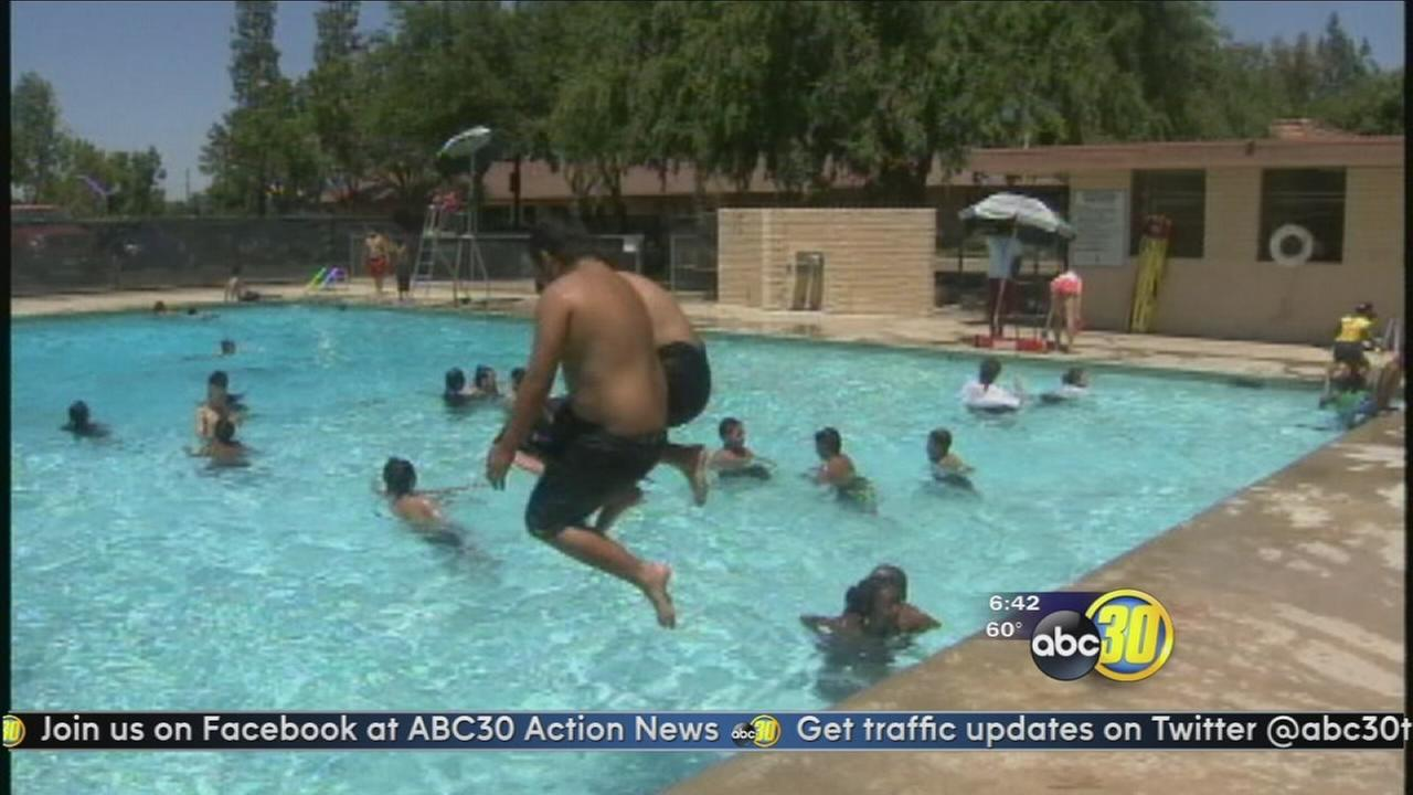 Fresno opens public pools for summer season