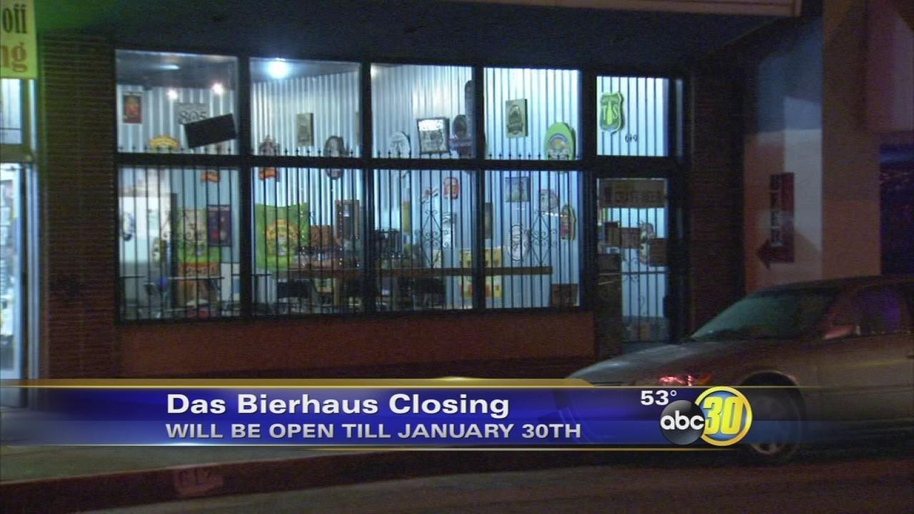 Das Bierhaus to close its doors