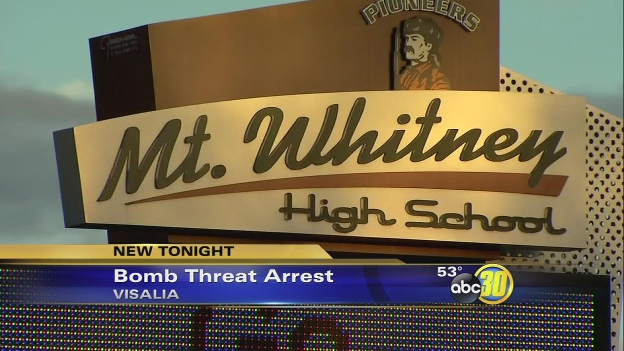 South Valley student arrested for bomb threat