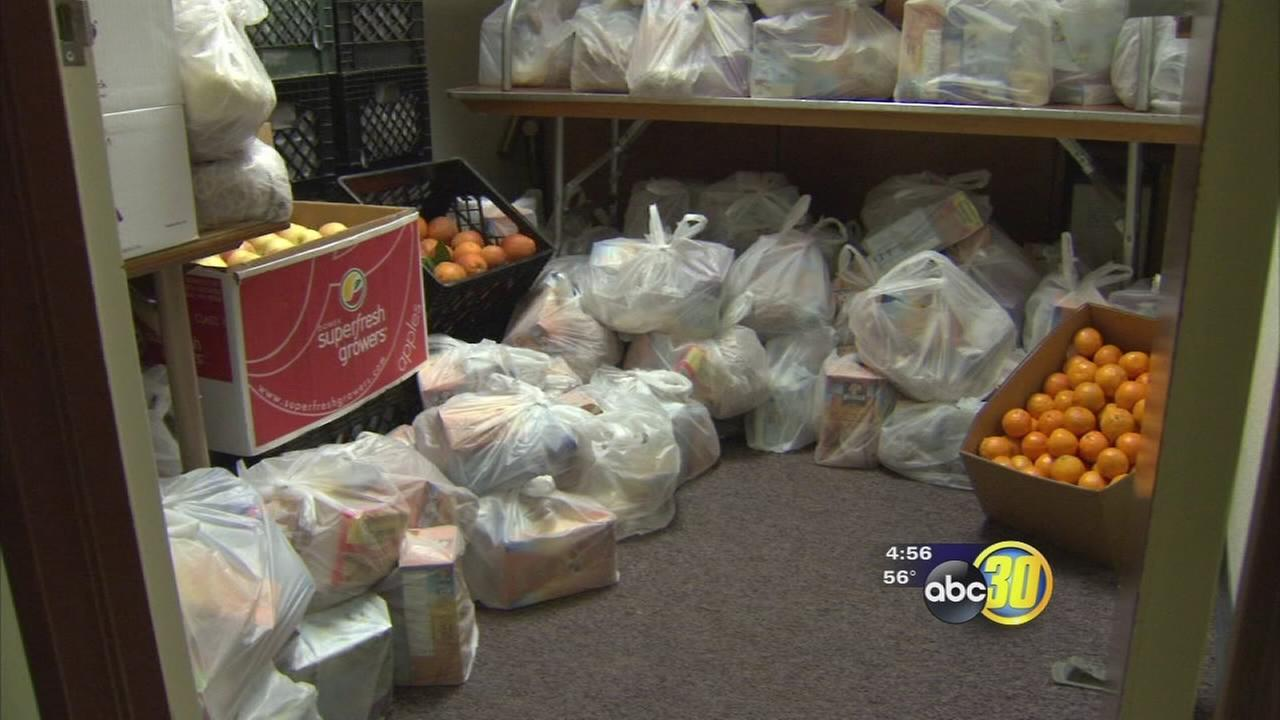 Fresno City College fights student hunger