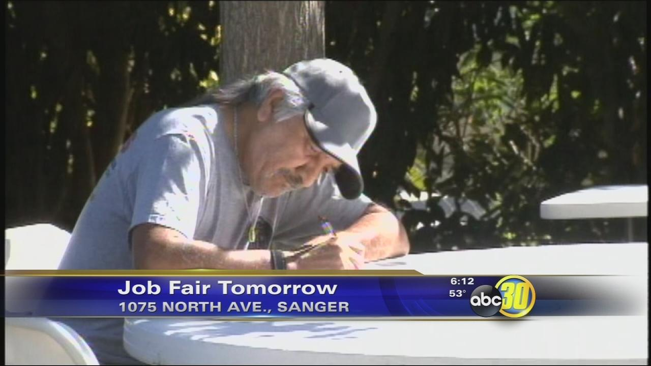 Job fair to be held in Sanger Monday