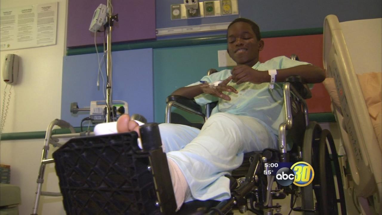 Family wants answers after boy injured in hit-and-run accident