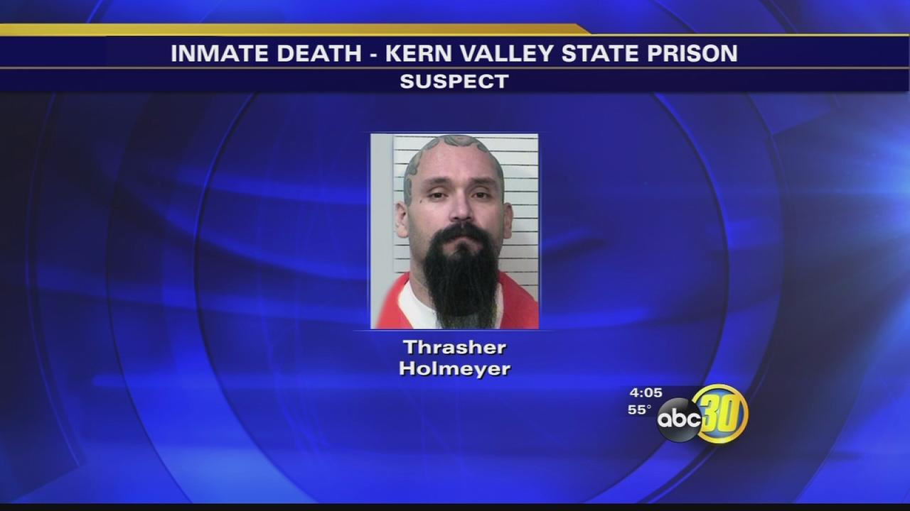 Authorities investigate Kern Valley inmate death as a homicide